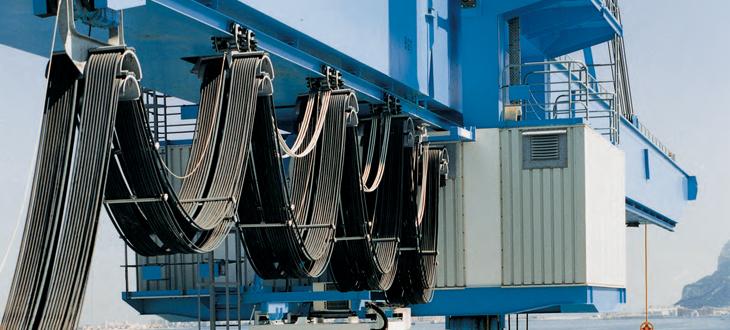 托令(拖链)电缆 - 圆形