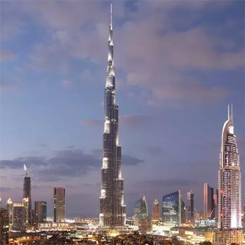 迪拜塔:极高的安全性
